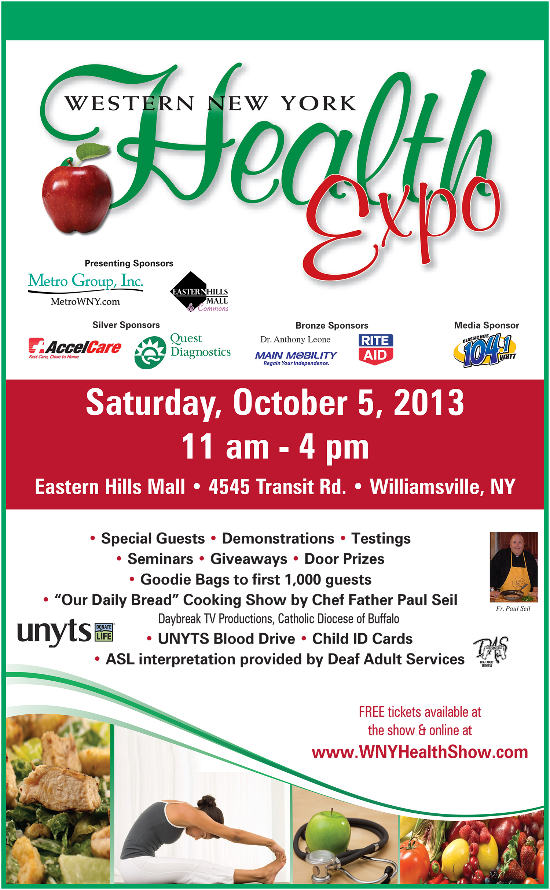 Come visit us at the WNY Health Expo October 5, 2013 | Moore ...
